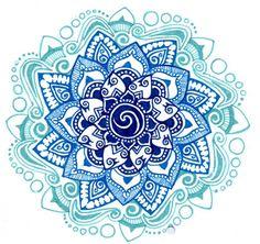 Peace Mandala tattoo   Nep tattoo voorbeeld Mandala 11