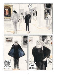 Einmal durch den Louvre | Reprodukt Comic Kunst, Comic Art, Grafic Novel, Illustrations, Illustration Art, Bd Comics, Pretty Art, Art Sketchbook, Storyboard