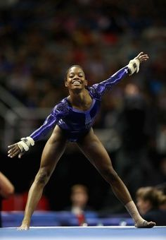 Gabby Douglas...she is amazing! Oh how I can't wait for the summer Olympics! Gymnastics love