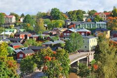 Long overshadowed by the more popular Scandinavian capitals, Helsinki's new and improved vision for a green utopia is worth taking a closer look. Bergen, Cities In Finland, Solo Vacation, Seaside Towns, Most Beautiful Cities, Amazing Places, By Train, Cool Countries, Travel And Leisure