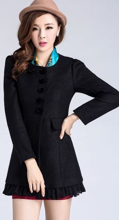 Winter Cashmere coat, winter wool coat, Korean Buttoned Coat, elegant cashmere coats, stylish coats, asian coats and jackets, free delivery asian fashion, korean fashion, YRB fashion, YRB buttoned, yrb0375, women new, arrivals