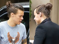Harry Styles's Man Bun: An Open Love Letter http://stylenews.peoplestylewatch.com/2015/05/15/harry-styles-man-bun-photos/