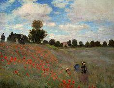 Claude Monet.Las amapolas.1873. (Impresionismo)