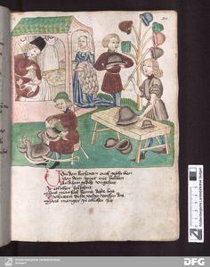 Schachzabelbuch - Cod.poet.et phil. fol 203r | Sidelaced supportive garment! 1467 Dutch