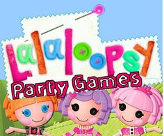 Lalaloopsy Party Games  Button Game   Jewel Sparkles Freeze Dance!  Prairie Dusty Trails Lasso Game  Crumbs Sugar Cookie Bake Hunt