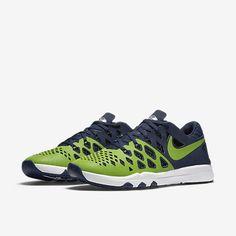 01f9ae914 Nike Train Speed 4 AMP Seattle Seahawks Mens Shoes 11 Action Green Navy  848587  Nike  RunningCrossTraining