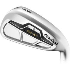 Cleveland Golf 588 MT Irons are an unparalleled combination of forgiveness and feel for exceptional control Wilson Golf Clubs, Cleveland Golf, Golf Putters, Golf Shop, Golf Irons, Golf Ball, Forgiveness, Steel, Photography