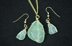 Sea Glass Pendants - something to do with all of our beach glass.
