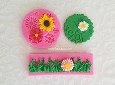 Available on www.itacakes.com Flowers Silicone Molds #gracefulvinesfondant #flowerimprintmat #grasssiliconemold #flowersiliconemold #daisysiliconemold #sunflowersiliconemold #bakingsupplies #fondantcake #siliconemolds #bakesupplies #cakesupplies #cupcakes #siliconemoulds #bakeshop #bakerysupplies #chocolatemolds #fondant #itacakes #baking #cupcaketopper