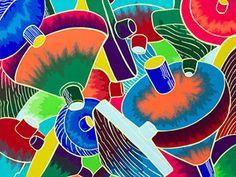 2017年度 多摩美術大学 テキスタイルデザイン専攻 現役合格者再現作品:色彩構成