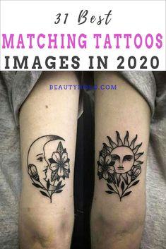 Friend Tattoos Small, Cute Best Friend Tattoos, Couple Tattoos Love, Matching Best Friend Tattoos, Matching Tattoos, Tattoos For Women Small, Bestie Tattoos Bff, Tattoos For Friends, Matching Relationship Tattoos