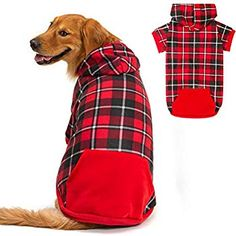 kyeese Dog Plaid Dress with Bowtie Dog Dresses for Small//Medium Dogs Cat Dress Ginger Yellow