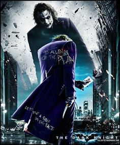 The Joker  - the-dark-knight Fan Art