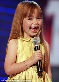 Little Connie Talbot on the first series of Britain's Got Talent in 2007