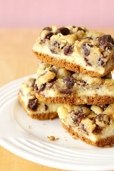 Cheesecake Cookie Monster Bars !