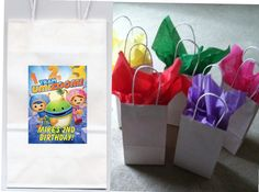 Team+Umizoomi+party+favor+goody+bags+by+FlavorfulFavors+on+Etsy,+$9.00