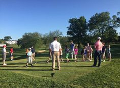 Coaches Jamie, Josh and Troy working with our two #PGA Junior League teams at The Union League Golf Club. #GrowTheGame #Golf #ULGolfClub #LeagueLife