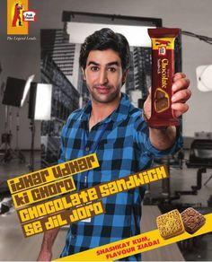 Peek Freans Print Ad for Chocolate & Lemon Sandwich - Shashkay Kum Flavour Zyada! - BrandSynario