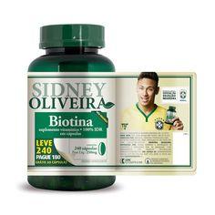 417522428 Biotina 30 mcg - Sidney Oliveira leve 240 pague 180 cápsulas