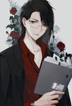 Manga Anime, Anime Couples Manga, Anime Black Hair, Chibi Cat, Dark Anime Guys, Sad Art, Handsome Anime Guys, Anime Angel, Harry Potter Anime