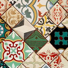 Spanish Tiles - Top 2015 Trends - Sunset