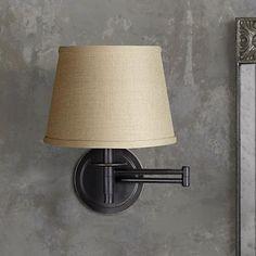 Kenroy Sheppard Oil Rubbed Bronze Plug-In Swing Arm Light