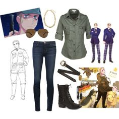 """Germany's Girl <3."" by ubercelly on Polyvore"