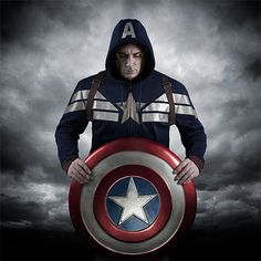 Exclusive Premium Captain America Hoodie Additional Image