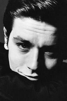 Alain Delon, photographed by Bert Stern, 1962.