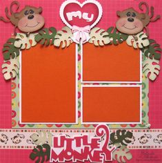 ** My Paper Crafting.com **: Melin's Cricut One Page Layouts