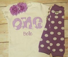 Cute!! https://www.etsy.com/listing/152517108/lavender-birthday-one-outfit-for-girls
