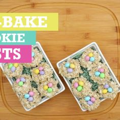 These No-Bake Cookie Nests are a sweet DIY treat perfect for Easter! Add colorful candy eggs for the ultimate festive touch! Desserts For Easter, Easter Snacks, Easter Candy, Holiday Desserts, Hoppy Easter, Holiday Baking, Easter Recipes, Holiday Recipes, Easter Food