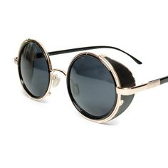 My design inspiration: Cardolle Round Sunglasses on Fab.