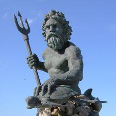 Neptune God | king neptune (roman mythological god of the sea,earthquakes and horses ...