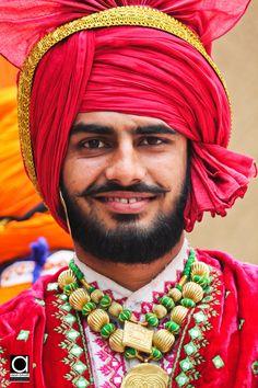 Punjabi Folk Dancer