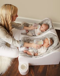 Recommended Twins Gear Recommended Twins Gear Twiniversity Twins Info Twin Pregnancy Tips Raising Twins twiniversity Baby Registry for Twins Pregnant with twins nbsp hellip Pregnancy announcement Twin Baby Beds, Twin Baby Rooms, Twin Nurseries, Twin Mom, Twin Cribs, Twin Baby Girls, Boy Girl Twins, Twin Twin, Baby Cribs