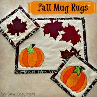 Fall Sewing Roundup for 2017: Make Something Special! - So Sew Easy