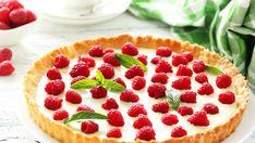 Jak zrobić kruchą tartę z malinami? Z czekoladą lub bezą - Przepisy - Polki.pl Food, Meals