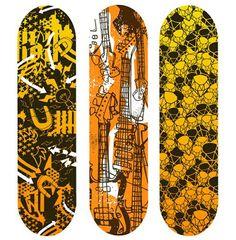 Excelentes diseños de patinetas — NiceFuckingGraphics!