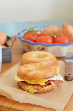 Ultimate Egg Bacon and Cheese Sandwich
