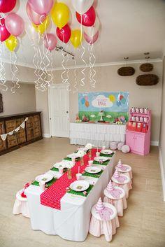 Piece of Cake: Paige's 2nd Birthday - Peppa Pig Theme