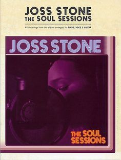 Joss Stone: The Soul Sessions for Piano, Vocal & Guitar. £14.99