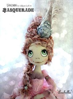 Urchin Art Doll by Vicki at Lilliput Loft ~ Arabella from Masquerade Collection