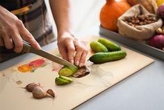 Schneidebrett aus Glas Plastic Cutting Board, Boards, Food And Drinks, Glass