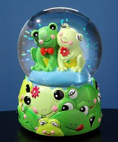 Another great find on #zulily! Frog Musical Water Globe by The San Francisco Music Box Company #zulilyfinds