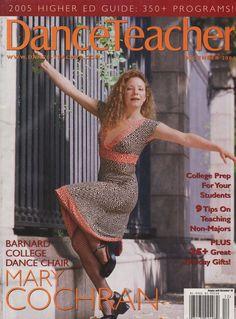 Former Paul Taylor dancer and Barnard College dance chair Mary Cochran, photo by Eduardo Patino