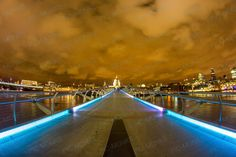 Walking on the St. Paul and Millenium Bridge at night is a surreal experience. One is drawn to the beauty of architecture of the city, made prettier by the lights that glimmer all around, especially on the surface of the calm river bubbling away beneath the bridge