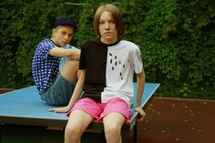 Gosha Rubchinskiy talks through his latest capsule collection, alongside exclusive lookbook out-takes. Read more here: http://www.anothermag.com/fashion-beauty/7624/ping-pong-and-neo-academism-with-gosha-rubchinskiy