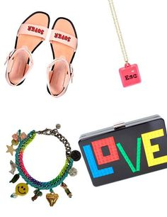 Accessories & more - For Fun - monstylepin #fashion #accessories #funnyaccessories #bracelet #necklace #smiles #popart #comics