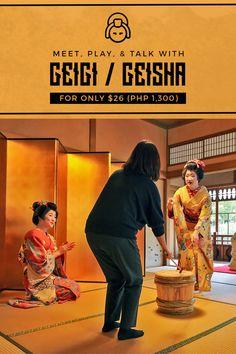 Booking a real geisha (geigi) can be VERY expensive. However, there's an affordable way to meet them up close when in Japan — read this article to know how! via http://iAmAileen.com/meet-geisha-furumachi-geigi-niigata-hanamachi-chaya-saitou-villa/ #geigi #geisha #geiko #maiko #niigata #japan #niigatacity #geishas #yoshino #kahori